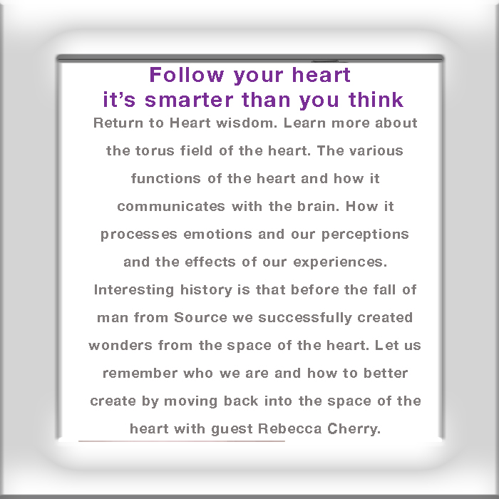 Follow your heart emotions perception